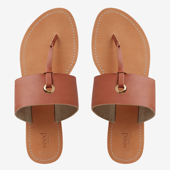 Cassie T-Bar Sandal  TAN  hi-res