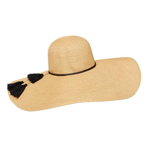 Oversized Wide Brim Hat  NATURAL  hi-res
