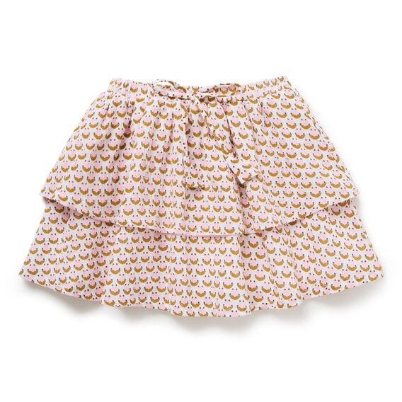 Ditsy Tiered Skirt  MULTI  hi-res
