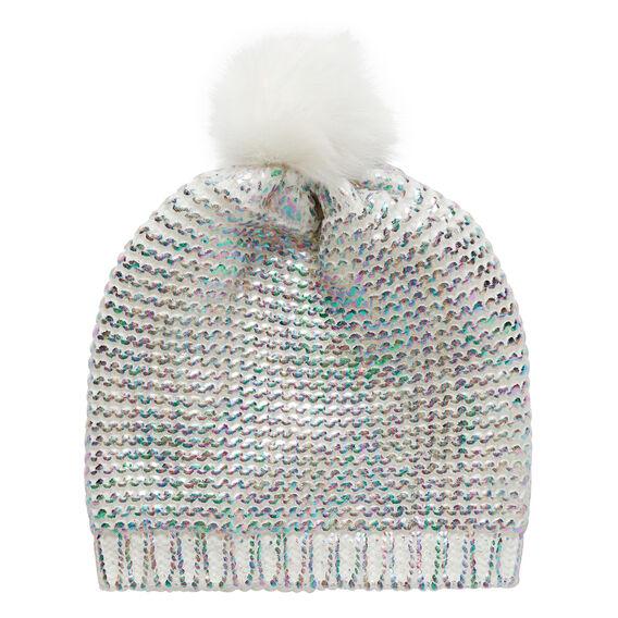 Mermaid Knit Beanie  MULTI  hi-res