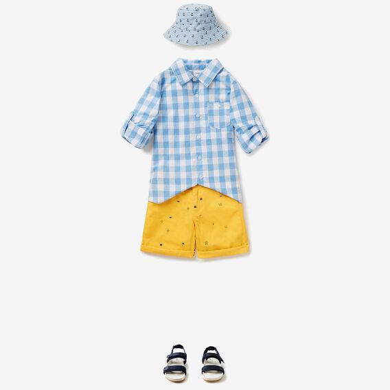 Gingham Shirt  BLUE GINGHAM  hi-res