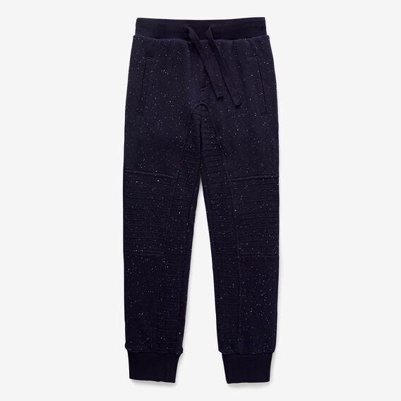 Panelled Trackie  MIDNIGHT BLUE  hi-res