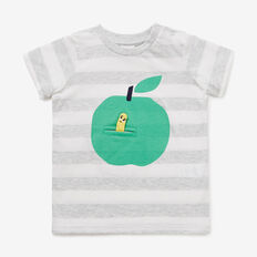 Apple & Worm Tee  VINTAGE WHITE  hi-res