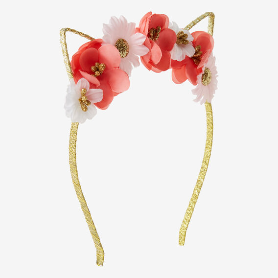 Flower Cat Headband  MULTI  hi-res