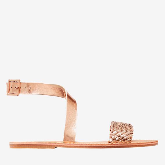 Weave Strap Sandal  ROSE GOLD  hi-res