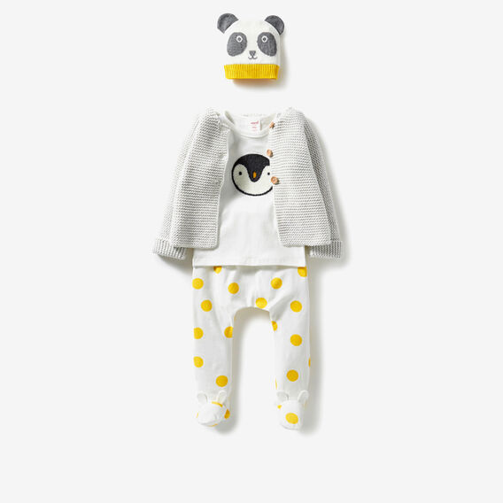 Garter Knit Cardigan  ICY MARLE  hi-res