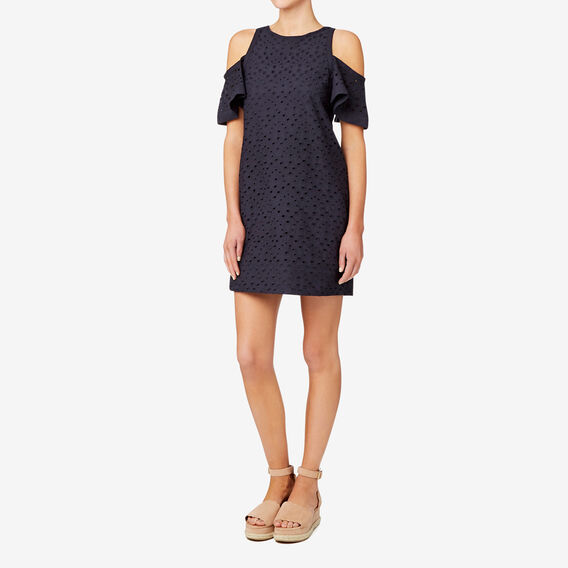 Broderie Dress  DEEP NAVY  hi-res