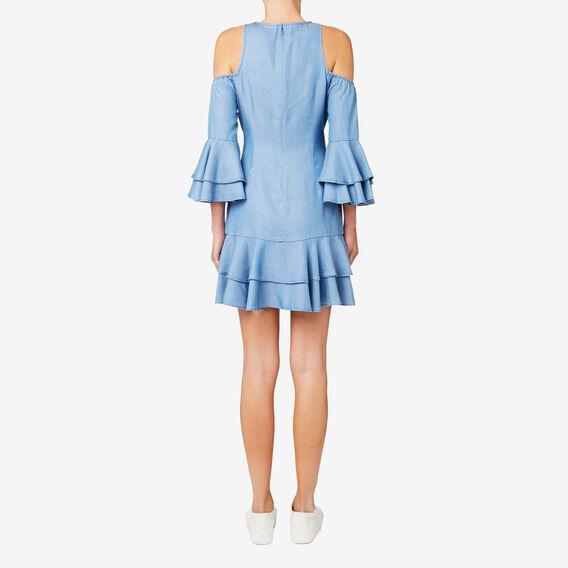Tencel Dress  DEEP SPRING BLUE  hi-res