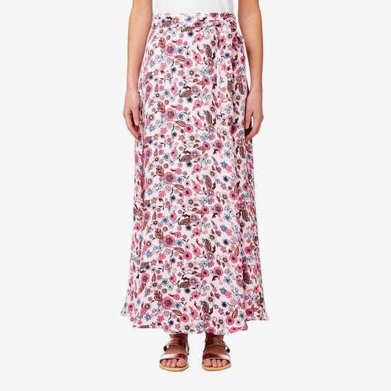 Floral Maxi Skirt  FLORAL  hi-res