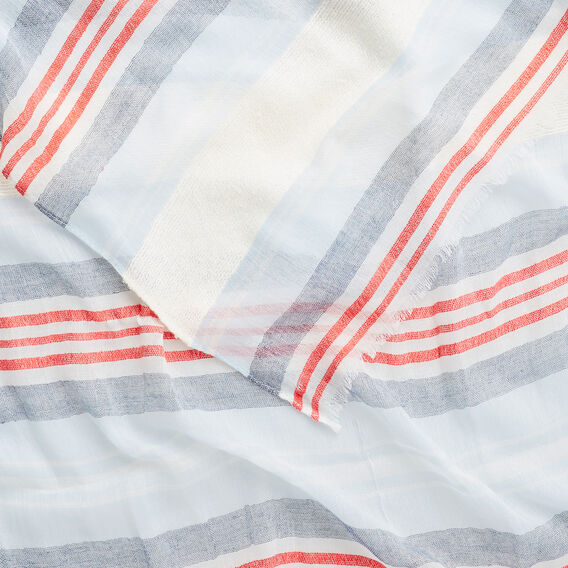 Sheer Stripe Scarf  MULTI  hi-res