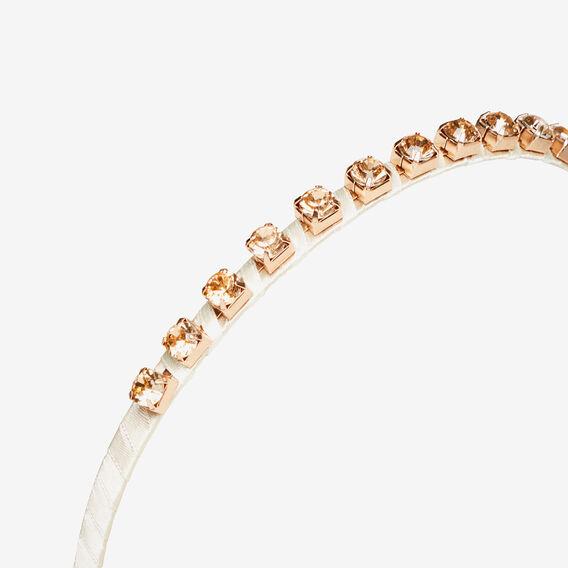 Stone Headband  ROSE GOLD  hi-res