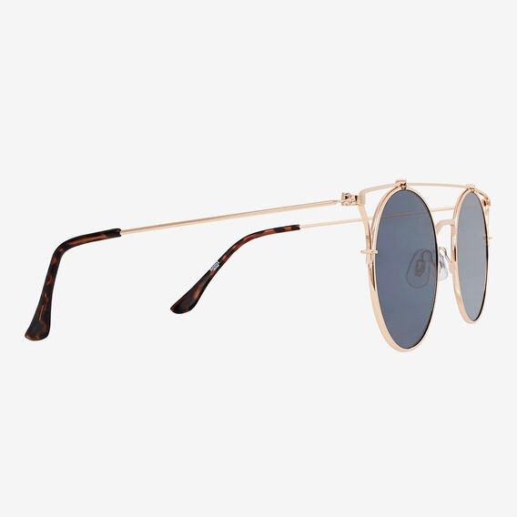 Gretty Round Sunglasses  GOLD  hi-res