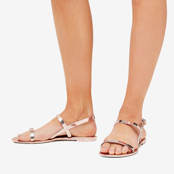 Cindy Jelly Sandal  ROSE GOLD  hi-res