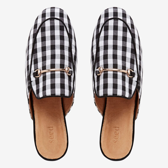 Gwen Slip On Loafer  GINGHAM  hi-res