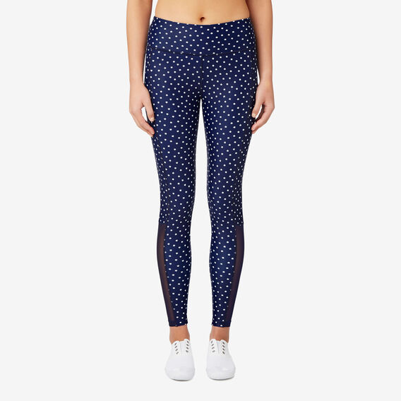 Mini Star Legging  NAVY  hi-res