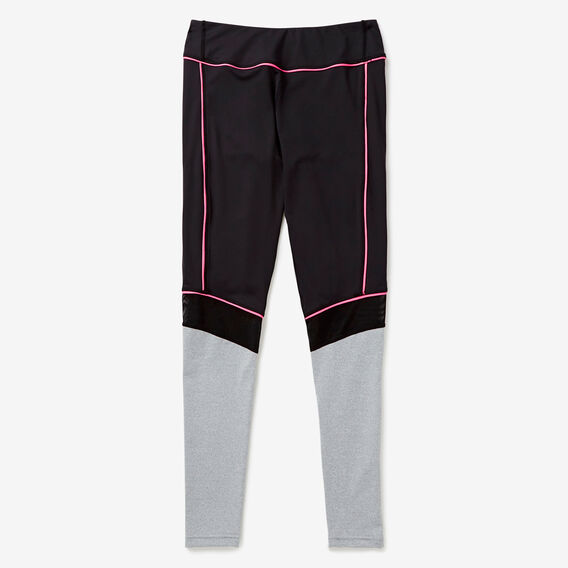 Colour Block Legging  HOT PINK  hi-res