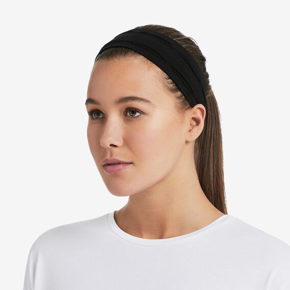Sports Headband Two Pack  BLACK/WHITE  hi-res