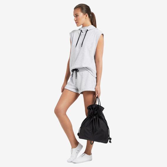 Sports Drawstring Bag  BLACK  hi-res
