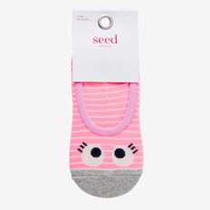 No-Show Little Eyes Socks  MULTI  hi-res