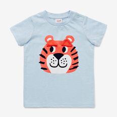 Tiger Eyes Tee  PACIFIC BLUE  hi-res