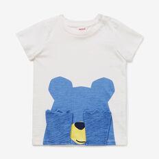 Peek-A-Boo Bear Tee  VINTAGE WHITE  hi-res