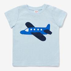 Plane Applique Tee  PACIFIC BLUE  hi-res
