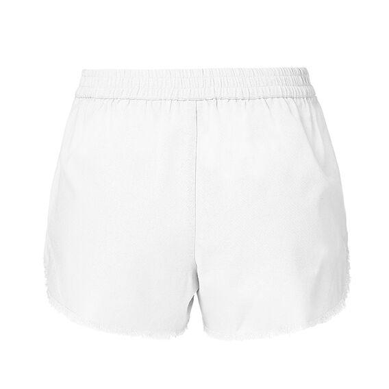 Frayed Short  WHITE  hi-res