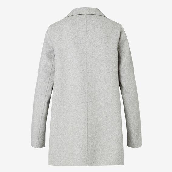 Pea Coat  MID GREY MARLE  hi-res