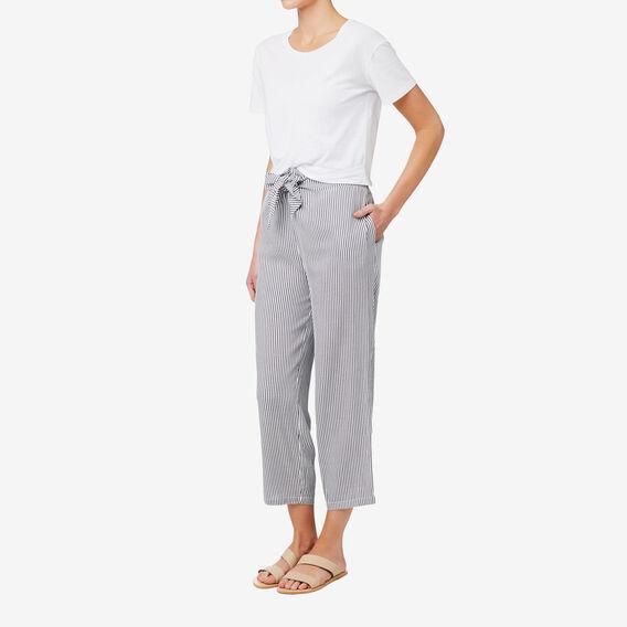 Straight Leg Pant  STRIPE  hi-res