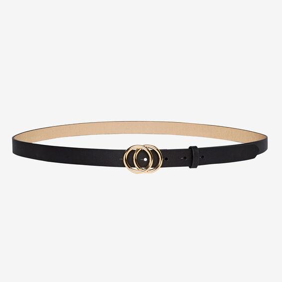 Tanya Ring Belt  BLACK  hi-res