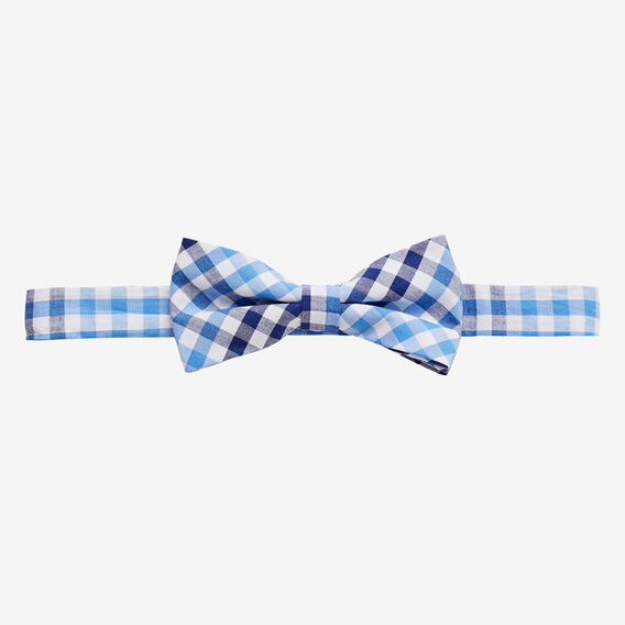 Gingham Bow Tie  BLUE  hi-res