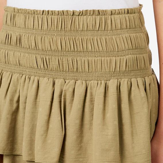 Olive Rahrah Skirt  FERN GREEN  hi-res