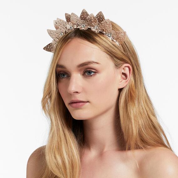 Double Leaf Crown  ROSE GOLD  hi-res