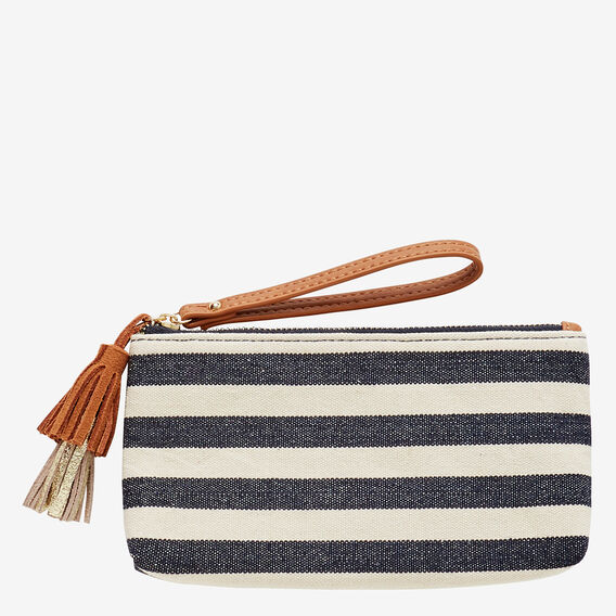 Kaylee Pouch  NAVY STRIPE  hi-res