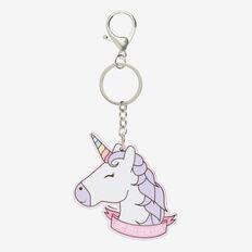 Unicorn Keyring  MULTI  hi-res