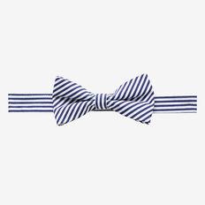 Stripe Bow Tie  NAVY  hi-res