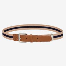 Elastic Belt  BEIGE STRIPE  hi-res