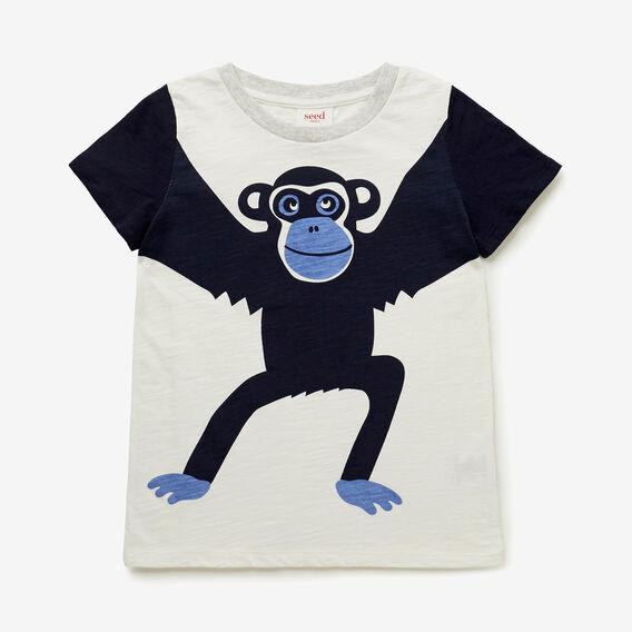 Chimp Tee  VINTAGE WHITE  hi-res