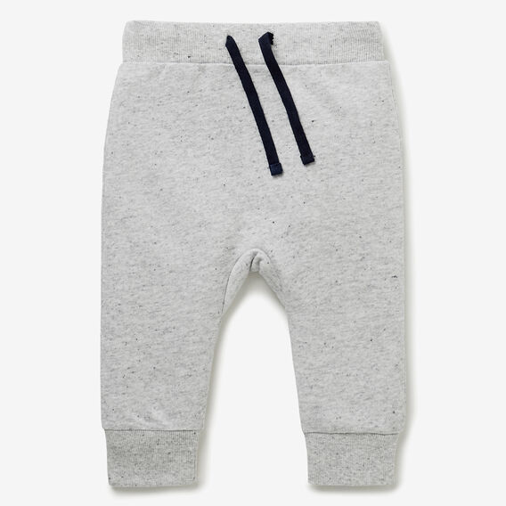 Lion Bum Trackie  CLOUDY MARLE  hi-res