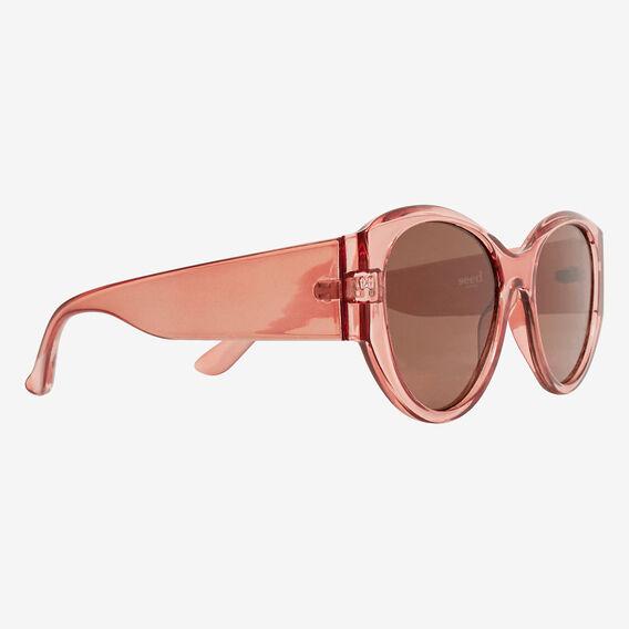 Em Oval Sunglasses  DEEP ROSE  hi-res