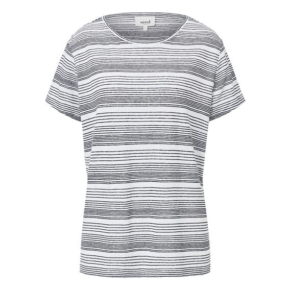 Variegated Stripe Tee  STRIPE  hi-res