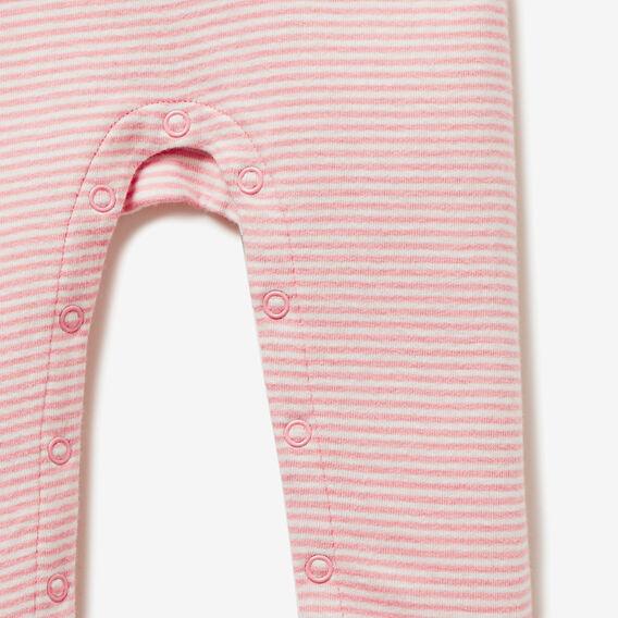 Cloud Stripe Jumpsuit  MUSK PINK  hi-res
