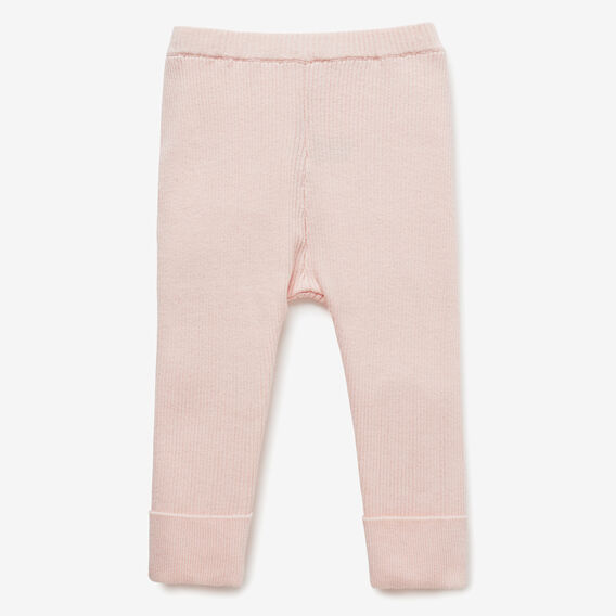 Knit Rib Pant  SOFTEST PINK  hi-res
