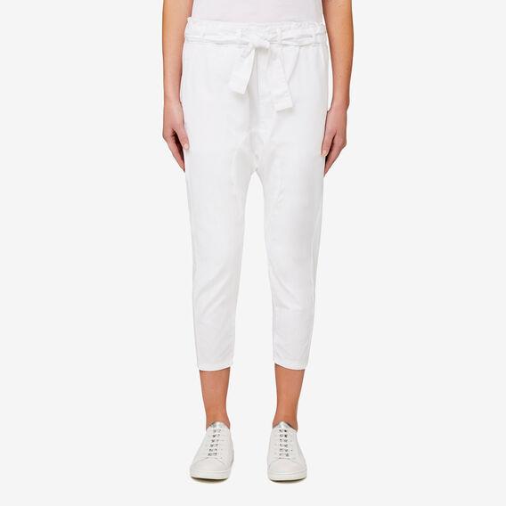 Woven Harem Pant  BRIGHT WHITE  hi-res