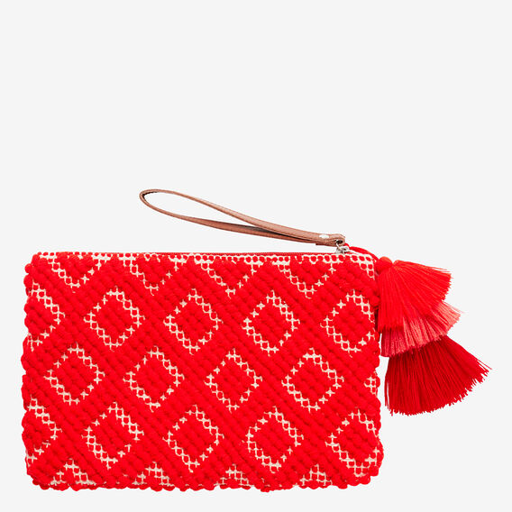 Arianna Pouch  ROYAL RED  hi-res