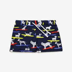 Dog Yardage Swim Short  MIDNIGHT BLUE  hi-res