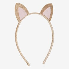Mini Cat Ear Headband  GOLD  hi-res