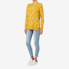 Spot Sweater  HONEY YELLOW  hi-res