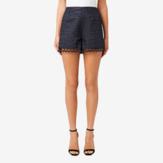 Lace Short  DEEP NAVY  hi-res