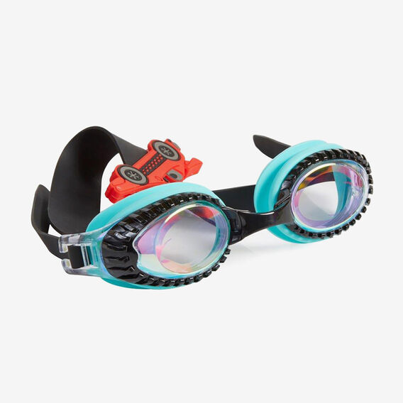 Racing Car Goggles  TEAL  hi-res